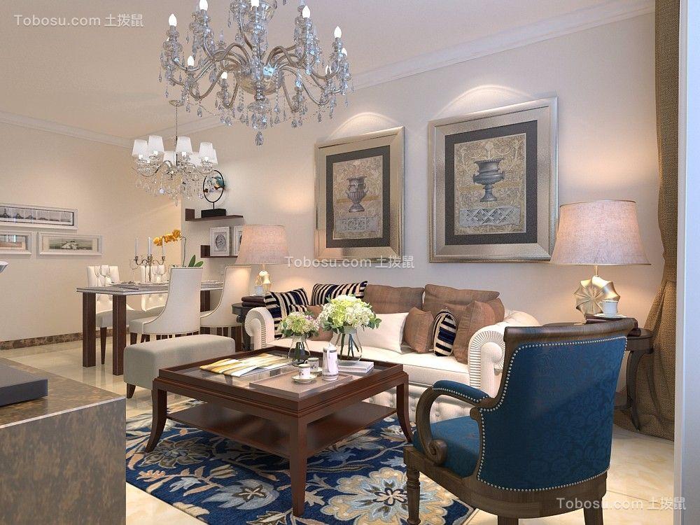 2019欧式客厅装修设计 2019欧式灯具图片图片