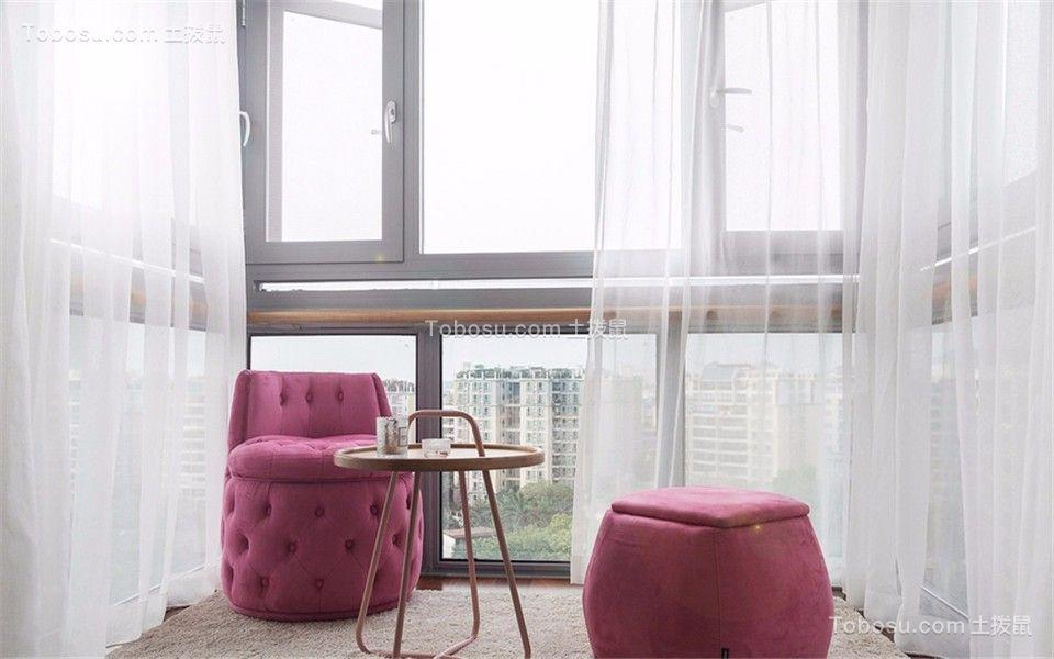 云锦美地合锦苑101平美式三室两厅一卫装修效果图