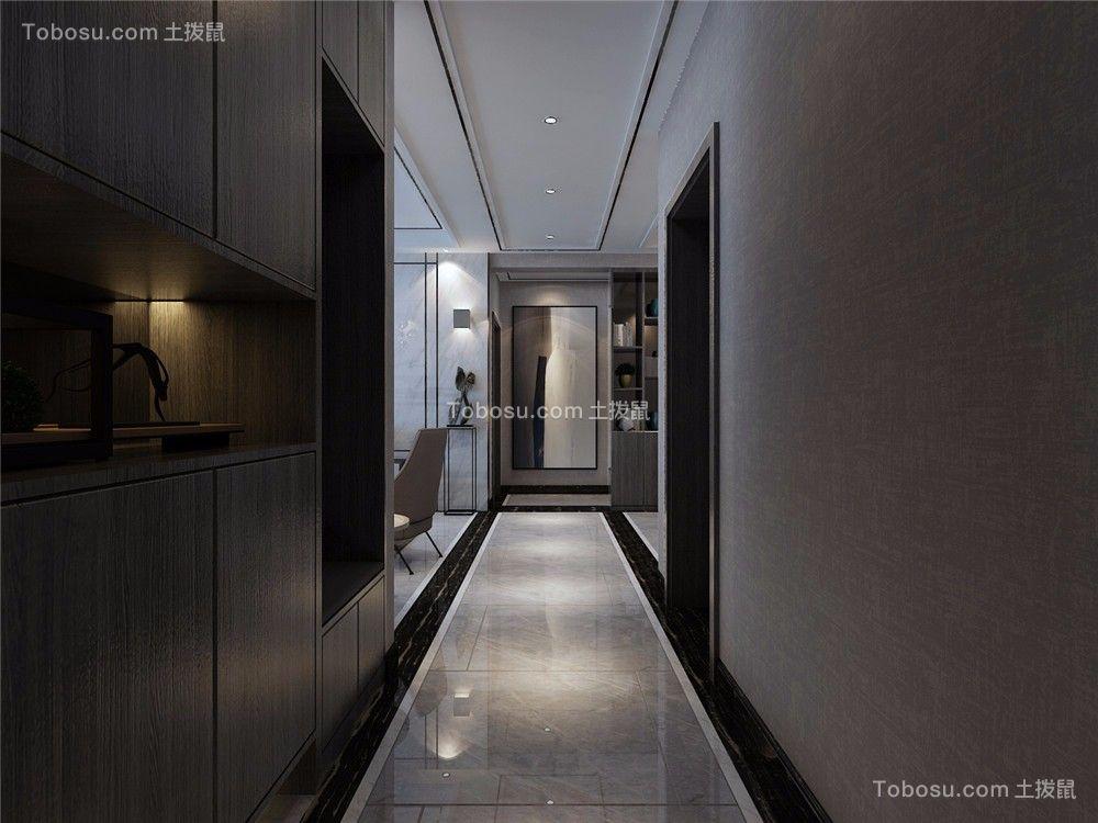 2018后现代玄关图片 2018后现代走廊效果图