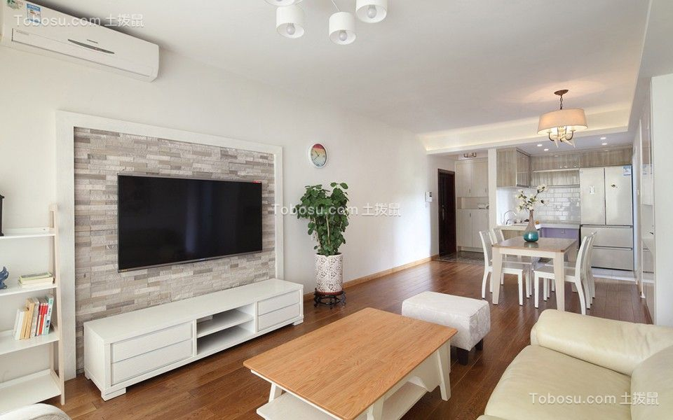 2019北欧90平米装饰设计 2019北欧三居室装修设计图片图片