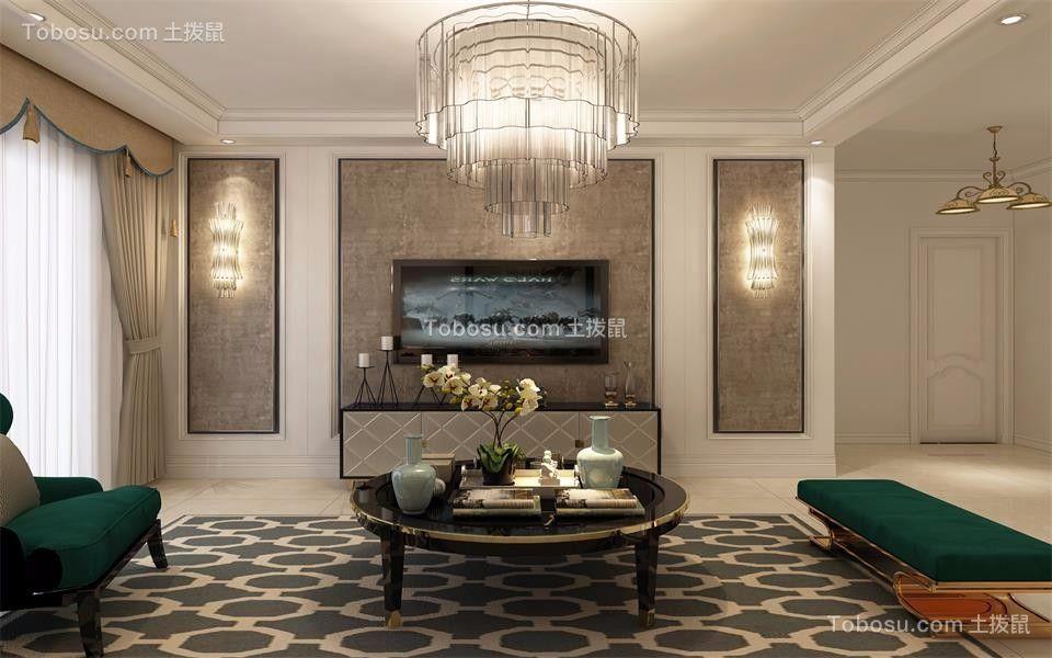100~120m²/简欧/三居室装修设计