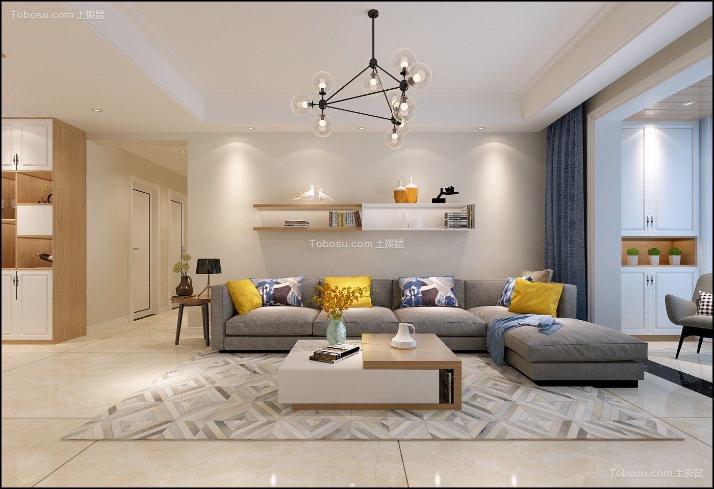 100~120m²/简约/三居室装修设计