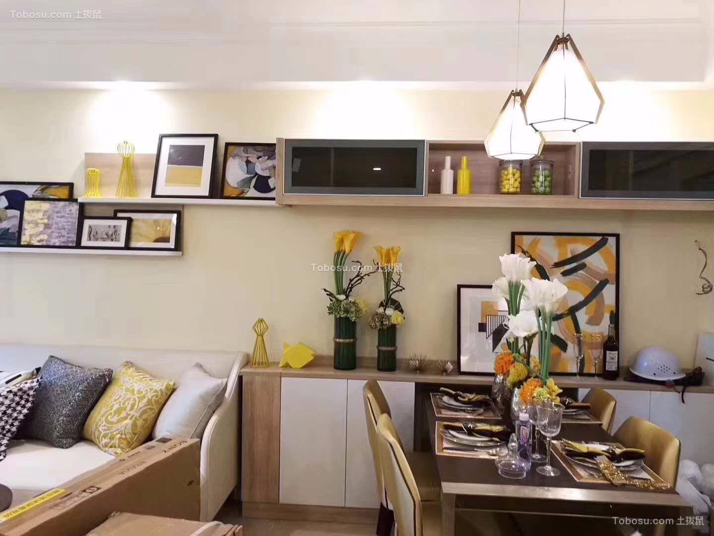 客厅_150㎡现代风格三室二厅室内装修效果图
