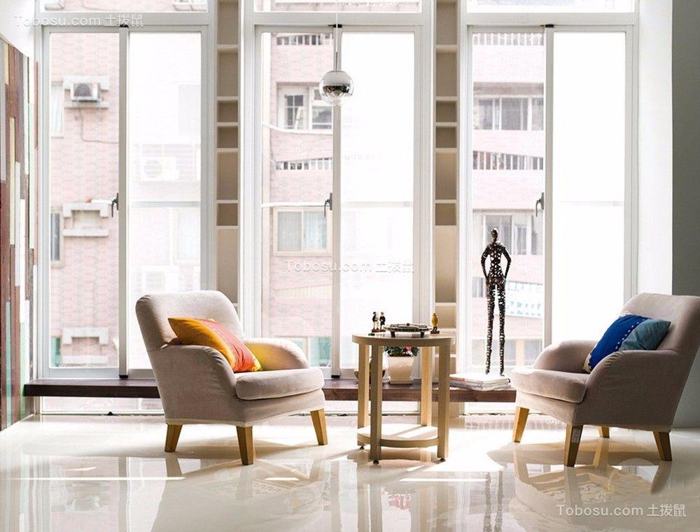 2020地中海客厅装修设计 2020地中海落地窗装修图片