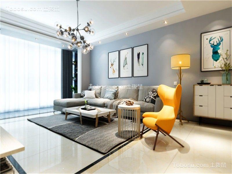 100~120m²/现代简约/三居室装修设计