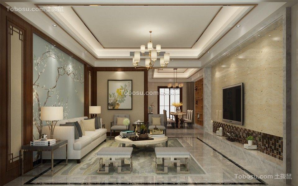 香格里拉170平现代四居室装修效果图