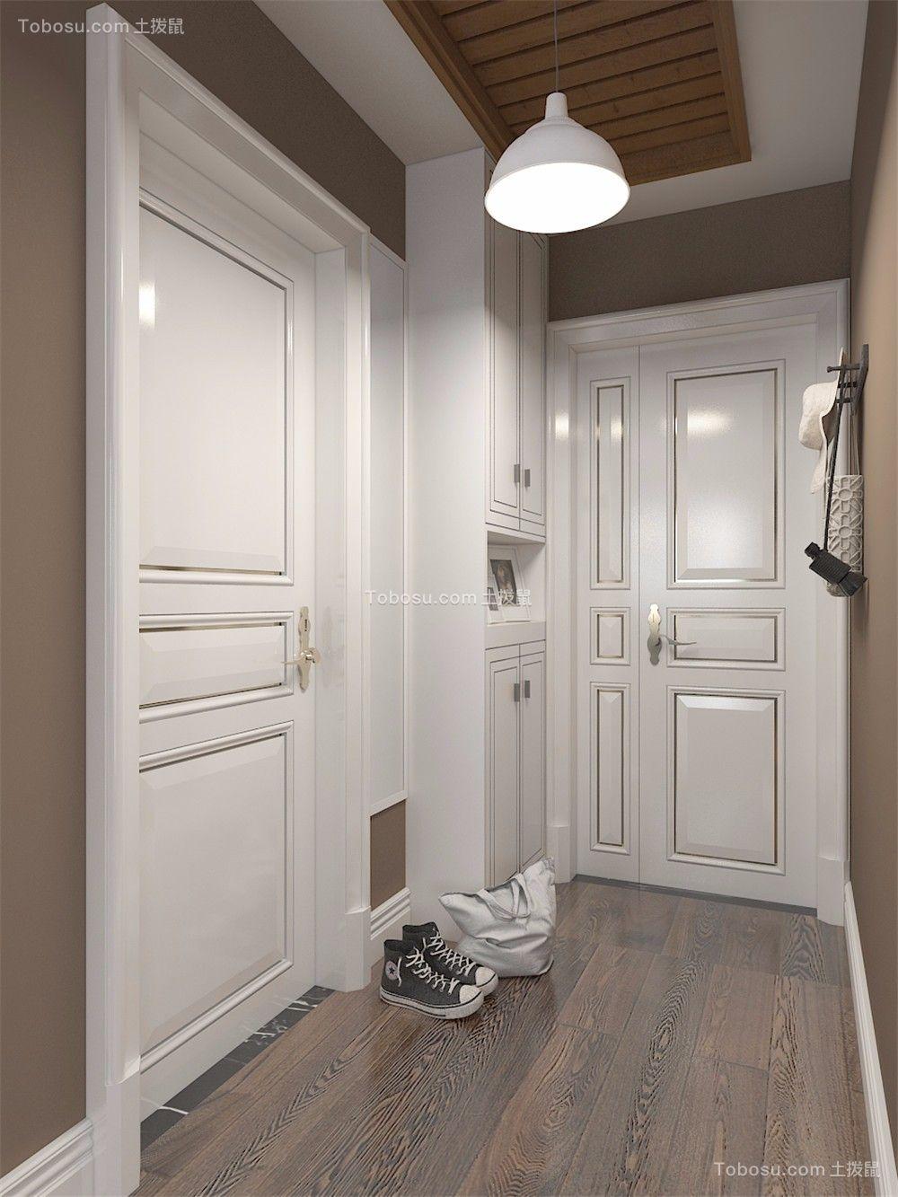 简洁玄关走廊家装设计图