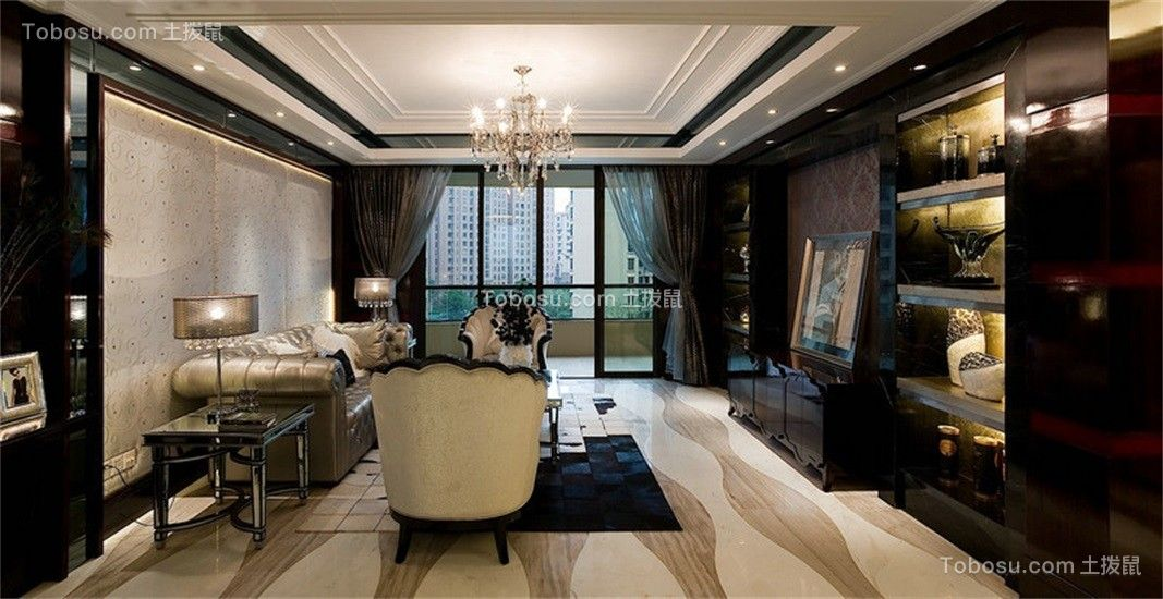 120~180㎡/古典/三居室装修设计