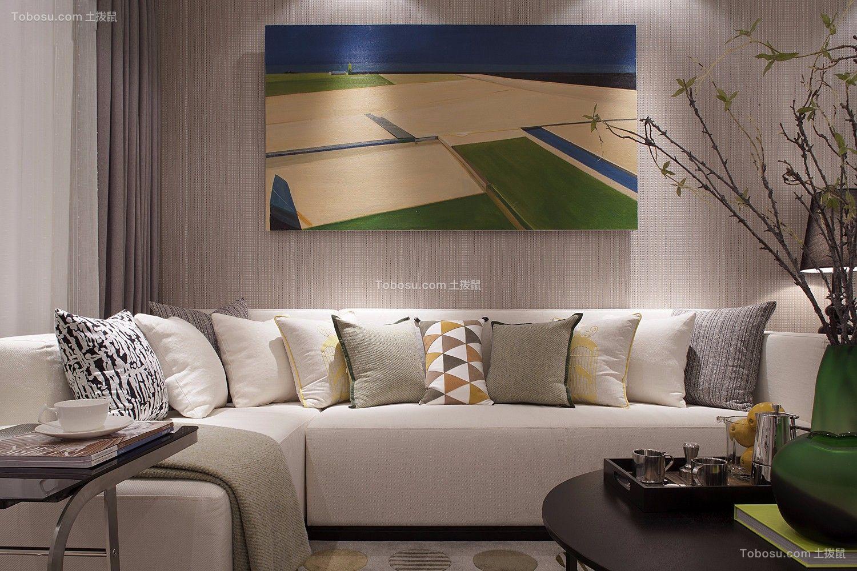 依澜雅居126平三居室北欧风格装修效果图