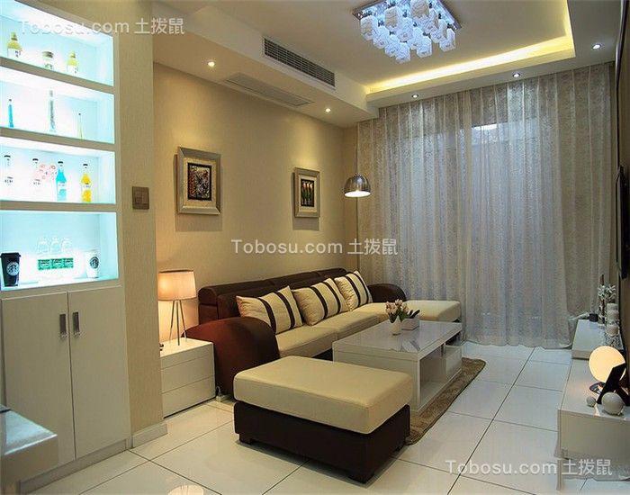 66平现代风两居室装修效果图