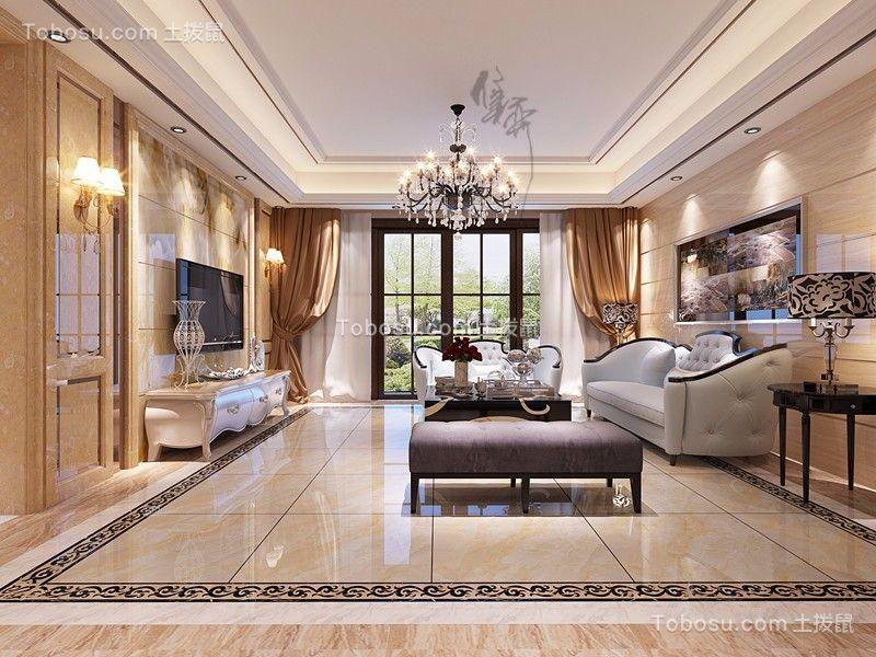 欧式风格280平米套房新房装修效果图