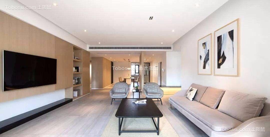110平米两室两厅新中式风格室内装修效果图