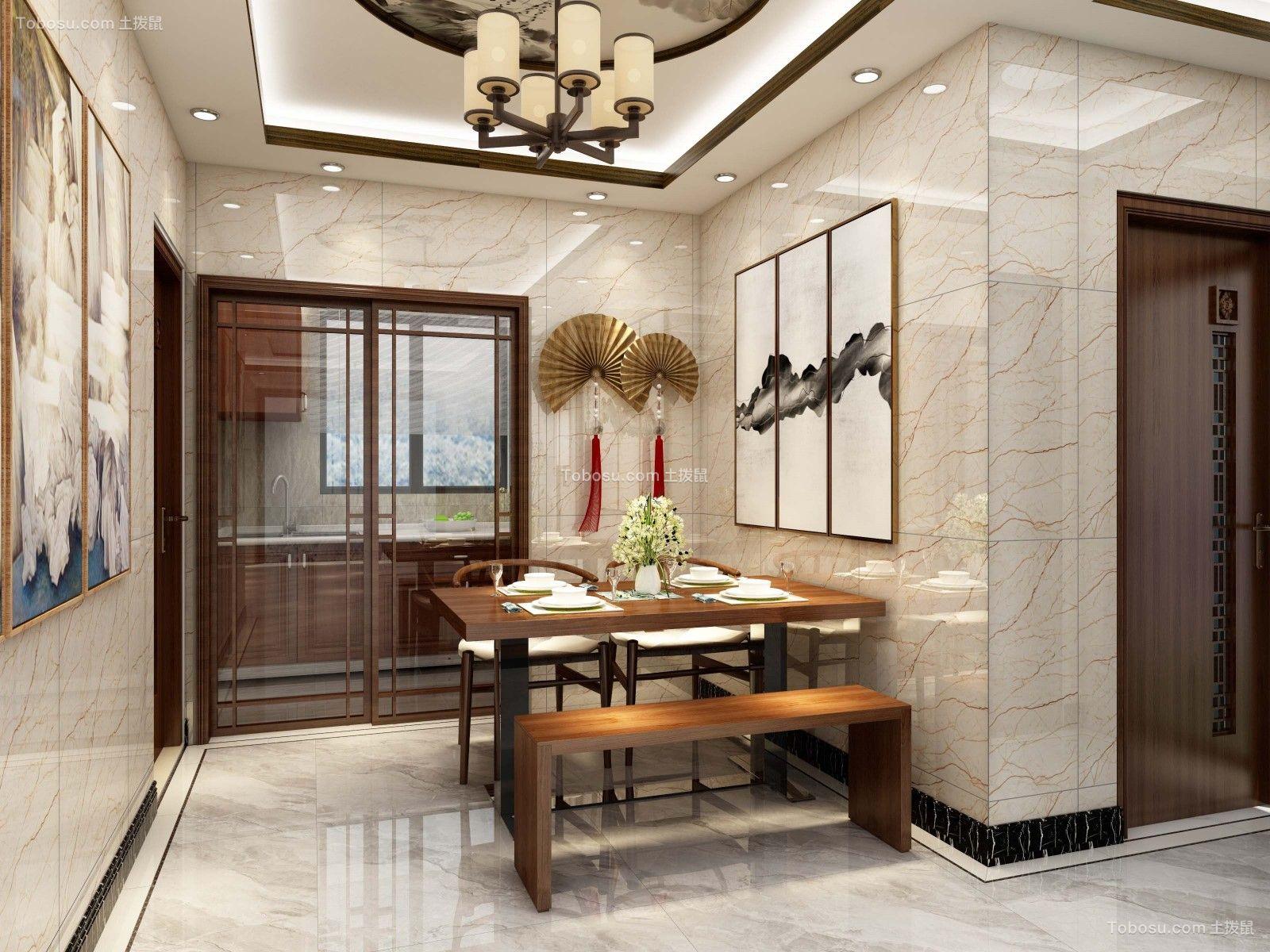 上海99平新中式99平米新中式风格效果图