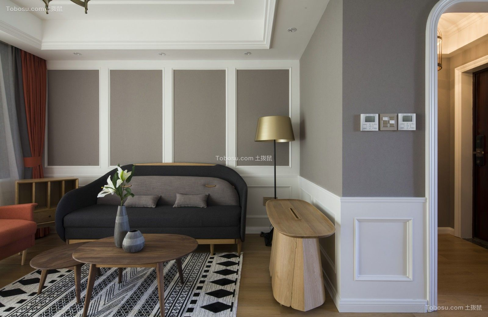 2018简约客厅装修设计 2018简约沙发装修设计
