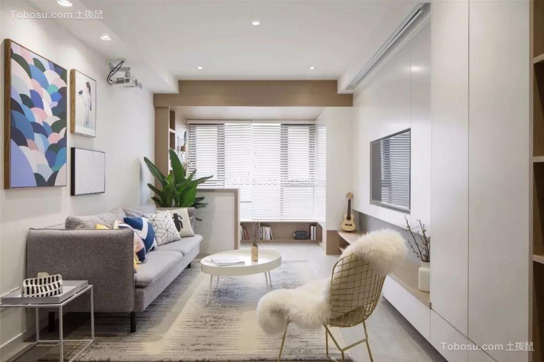 现代风格160平米套房新房装修效果图