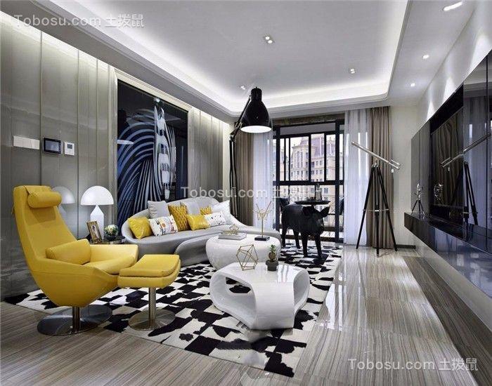 简约风格178平米大户型新房装修效果图