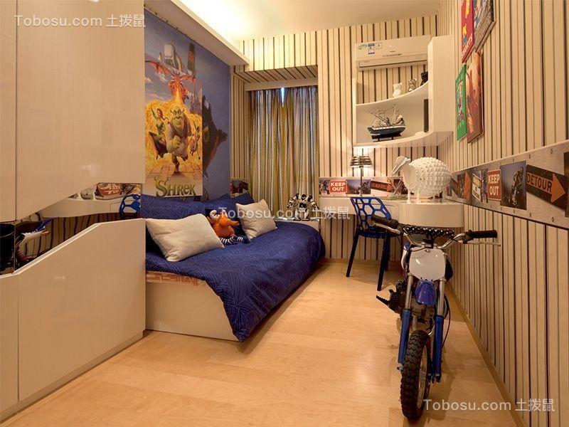 武汉汉口城市广场105平米现代简约风格效果图