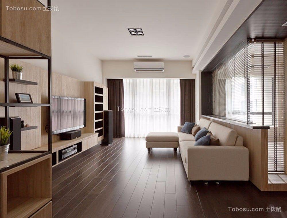现代简约风格144平米4房2厅房子装饰效果图