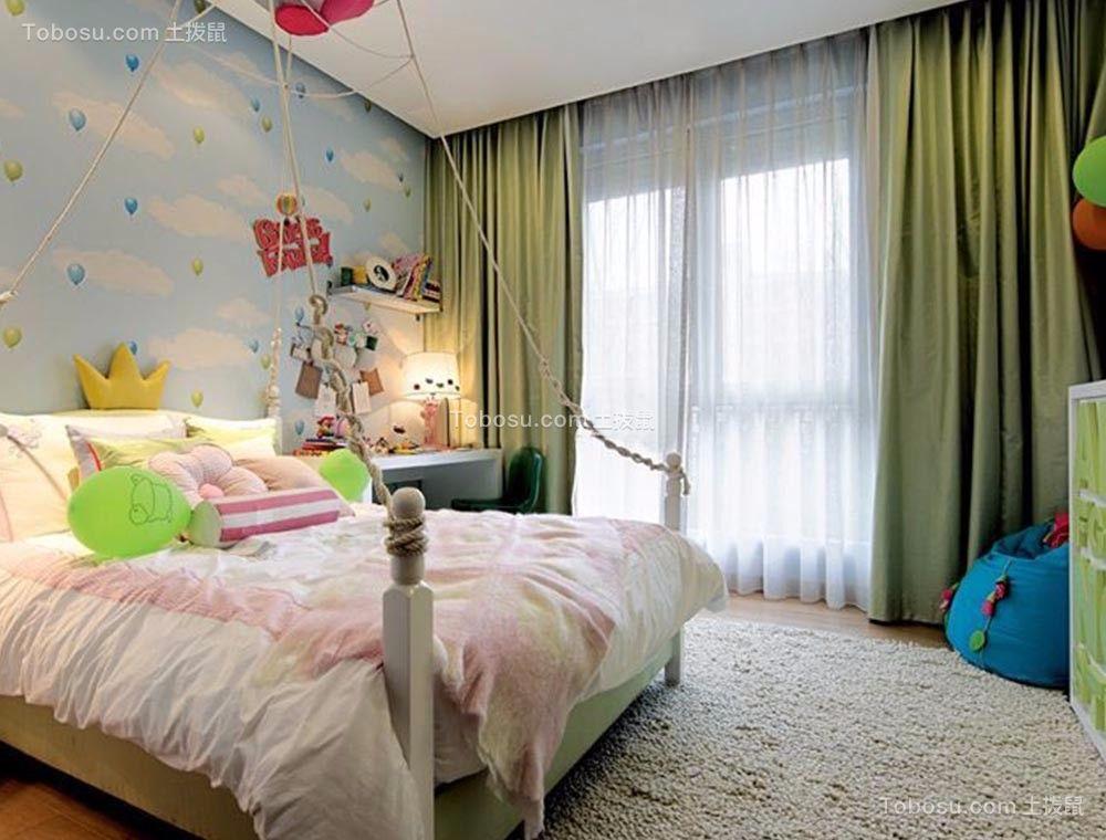 混搭风格137平米4房2厅房子装饰效果图