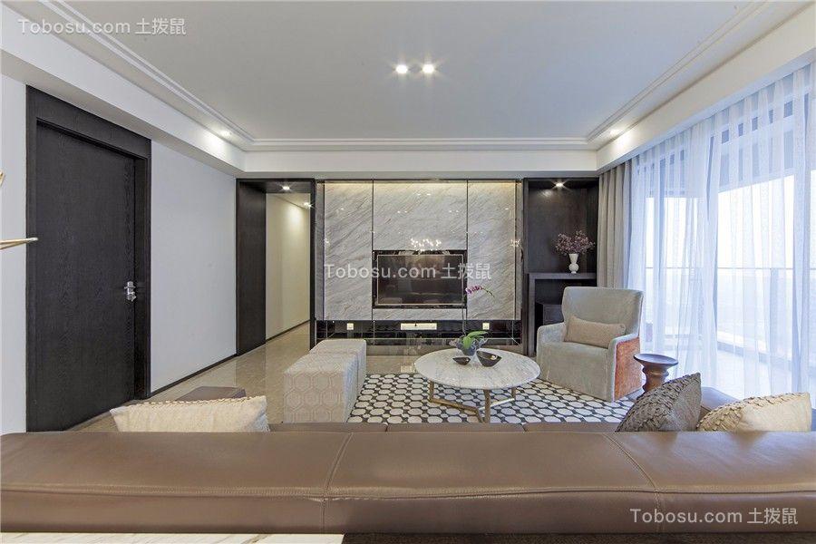 170平现代简约轻奢现代套房装修效果图