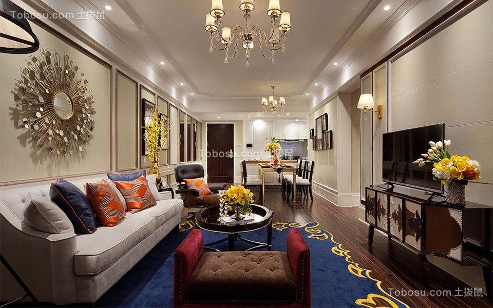 简约风格300平米别墅新房装修效果图