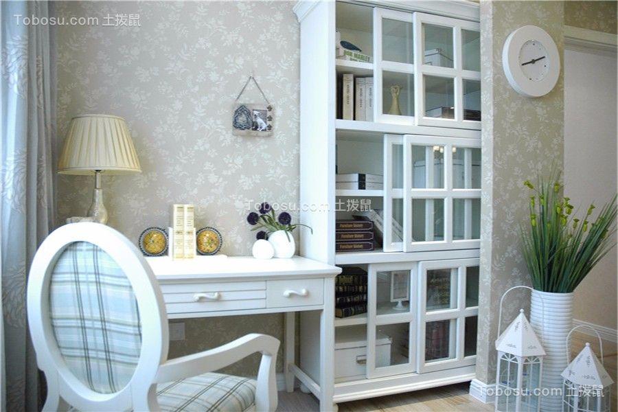 卧室米色细节田园风格装饰设计图片