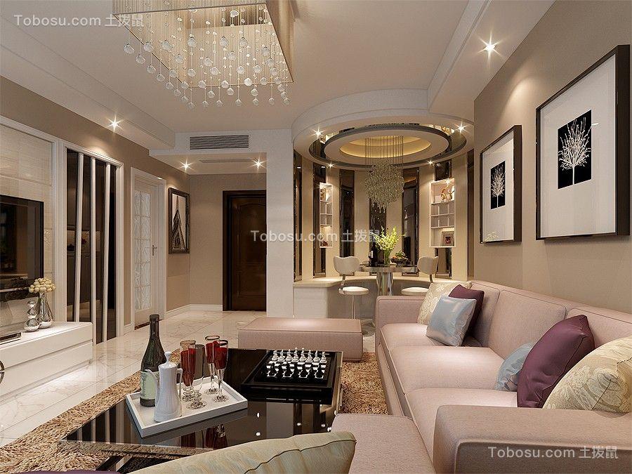 120平现代风格套房装修案例效果图