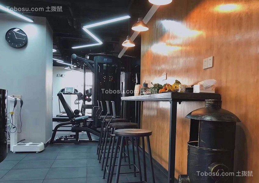 2019现代简约健身房装修图 2019现代简约细节装饰设计