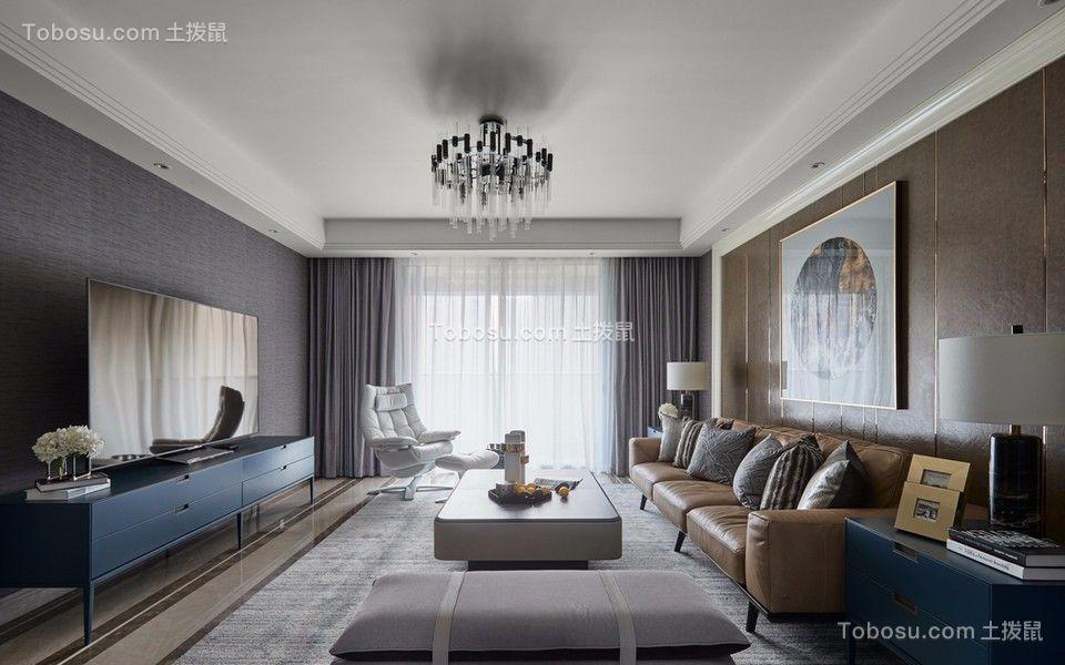 混搭风格75平米两室两厅新房装修效果图