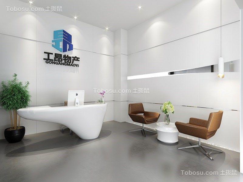 250方现代风格办公空间效果图
