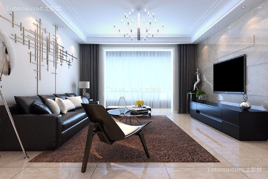 简约风格170平米四室两厅新房装修效果图