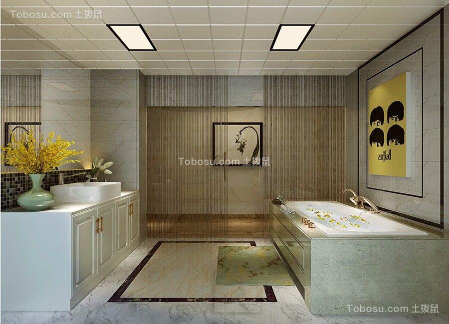 现代风格150平米三居室新家装修效果图