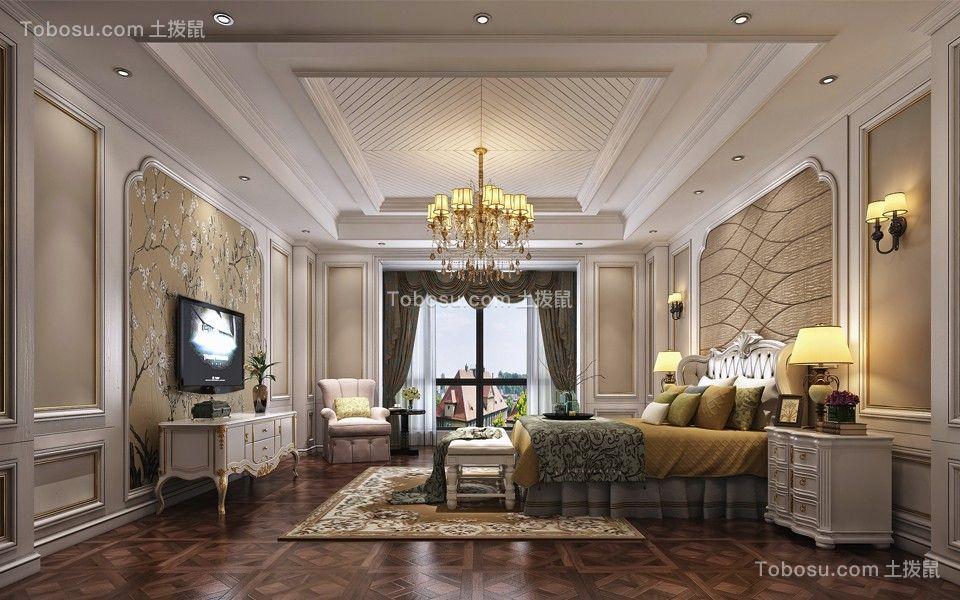 欧式风格280平米别墅新房装修效果图