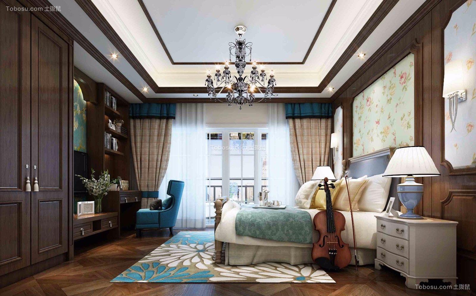 500平方美式风格别墅效果图