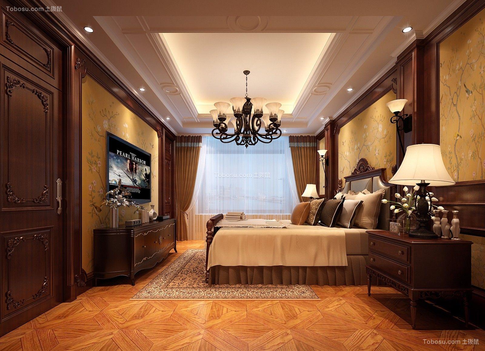 美式风格280平米别墅室内装修效果图