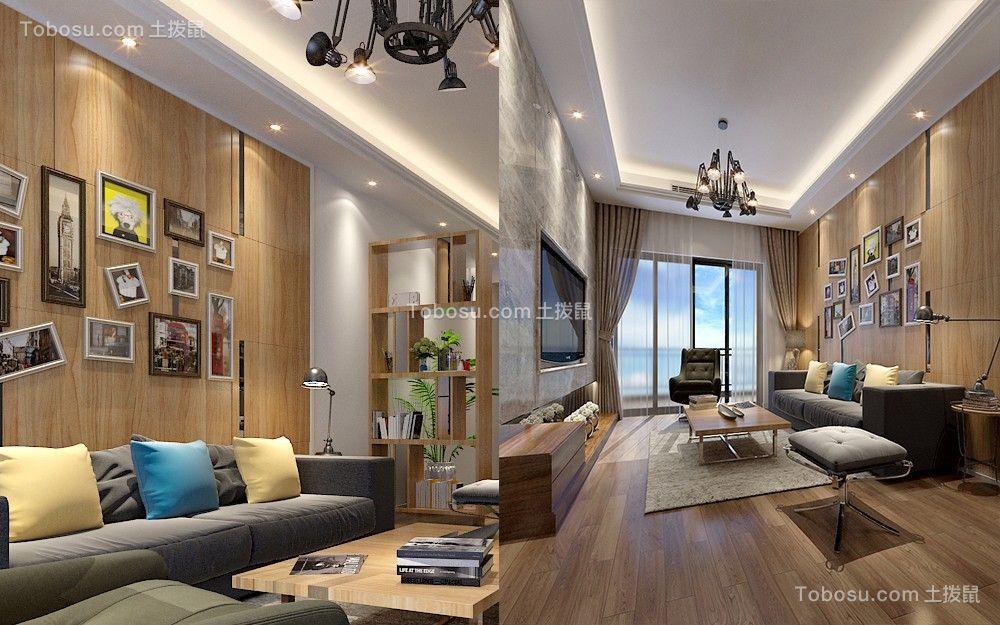 佛山南海世爵府邸四居室现代简约风格