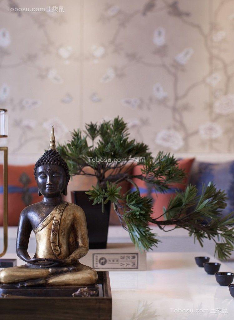 休闲中式白色茶几设计图欣赏