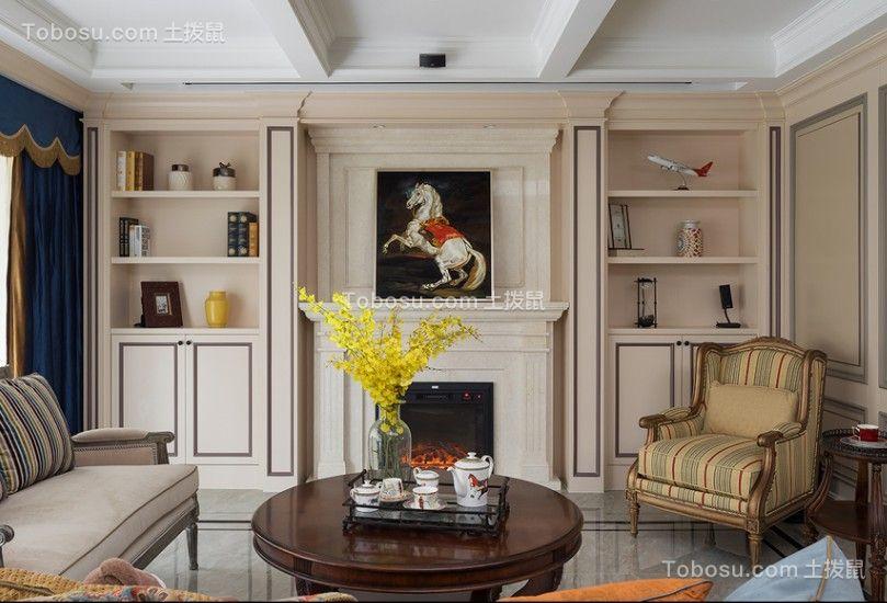 245方美式风格四居室装修效果图