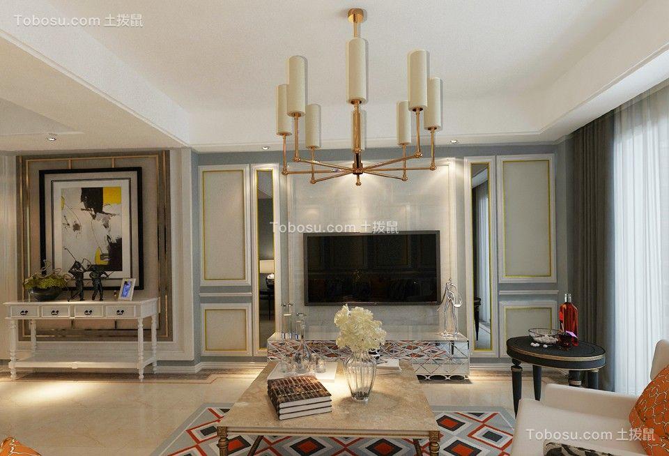 简欧风格170平米套房室内装修效果图