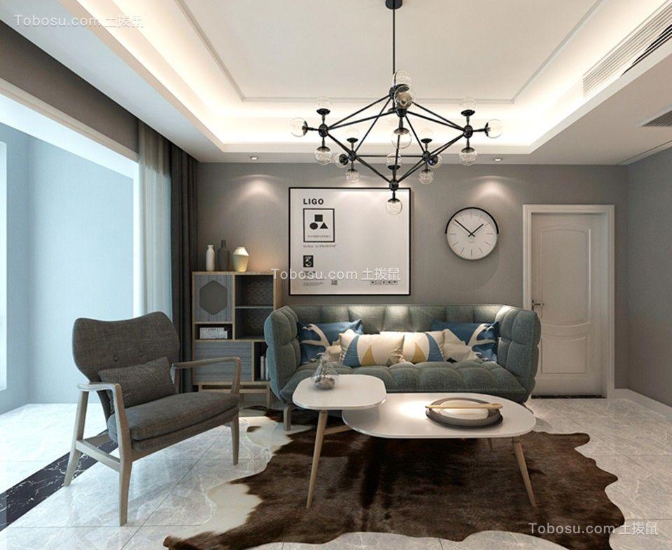 北欧风格145平米四居室室内装修效果图