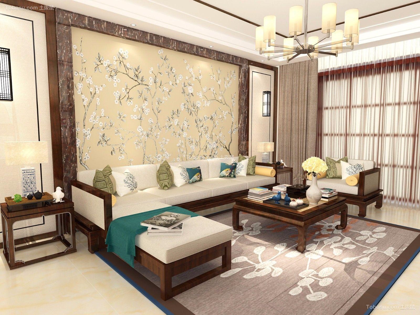 311平米新古典风格4居室4室1厅2阳2卫装修效果图