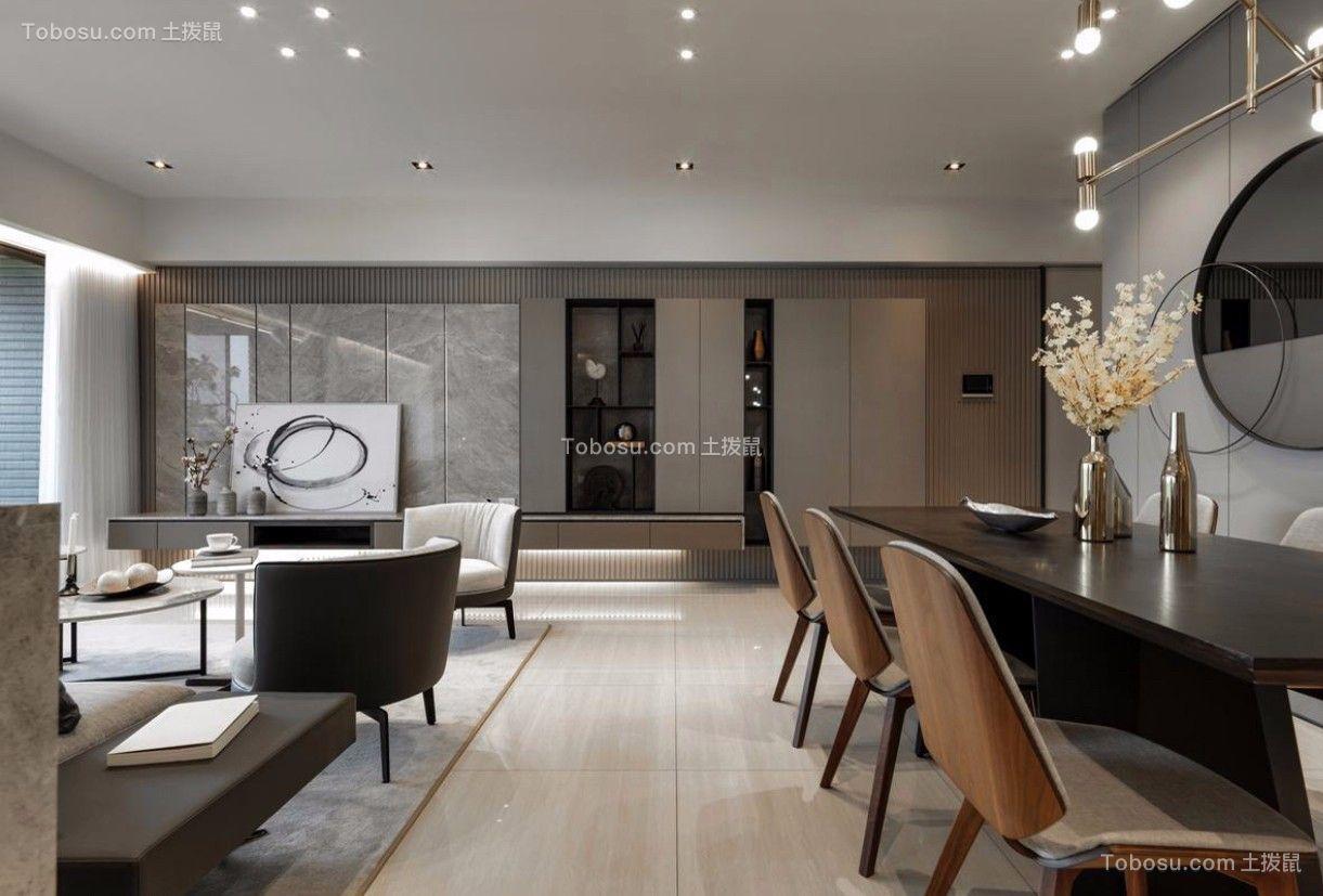 餐厅黑色细节北欧风格装潢设计图片
