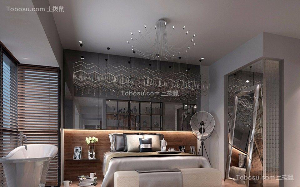 禅城绿地未来城一百多平三居室北欧风装修