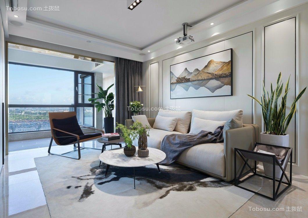 简约风格122平米四室两厅新房装修效果图