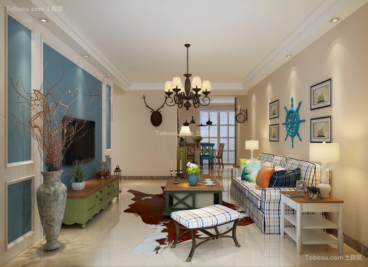 146平米简约风格三居室装修效果图图片