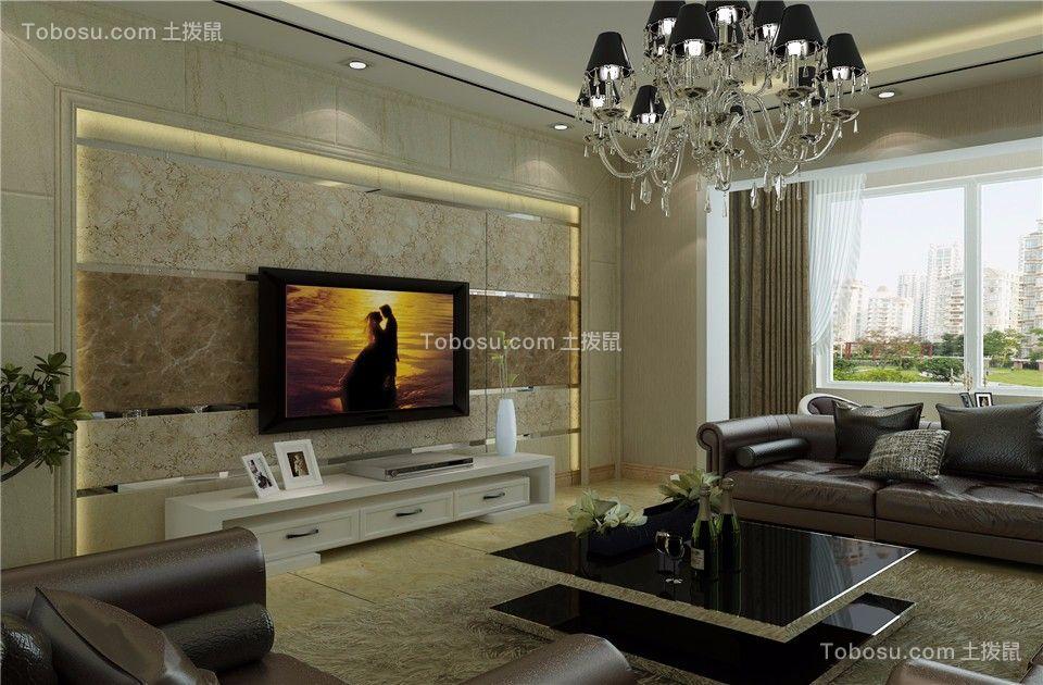 太原和泰紫园158平米现代简约风格效果图