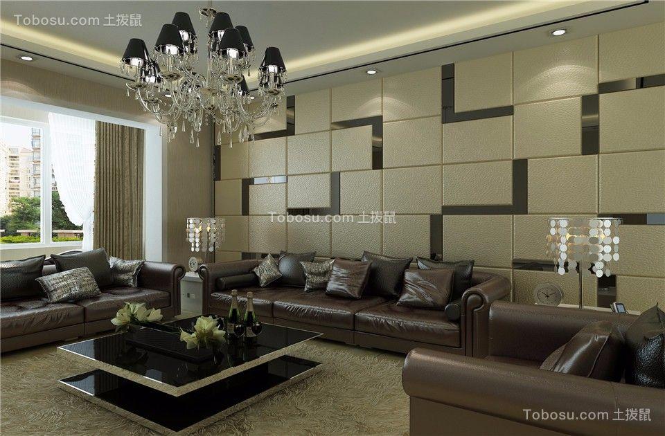 158平现代简约风格三居室装修效果图