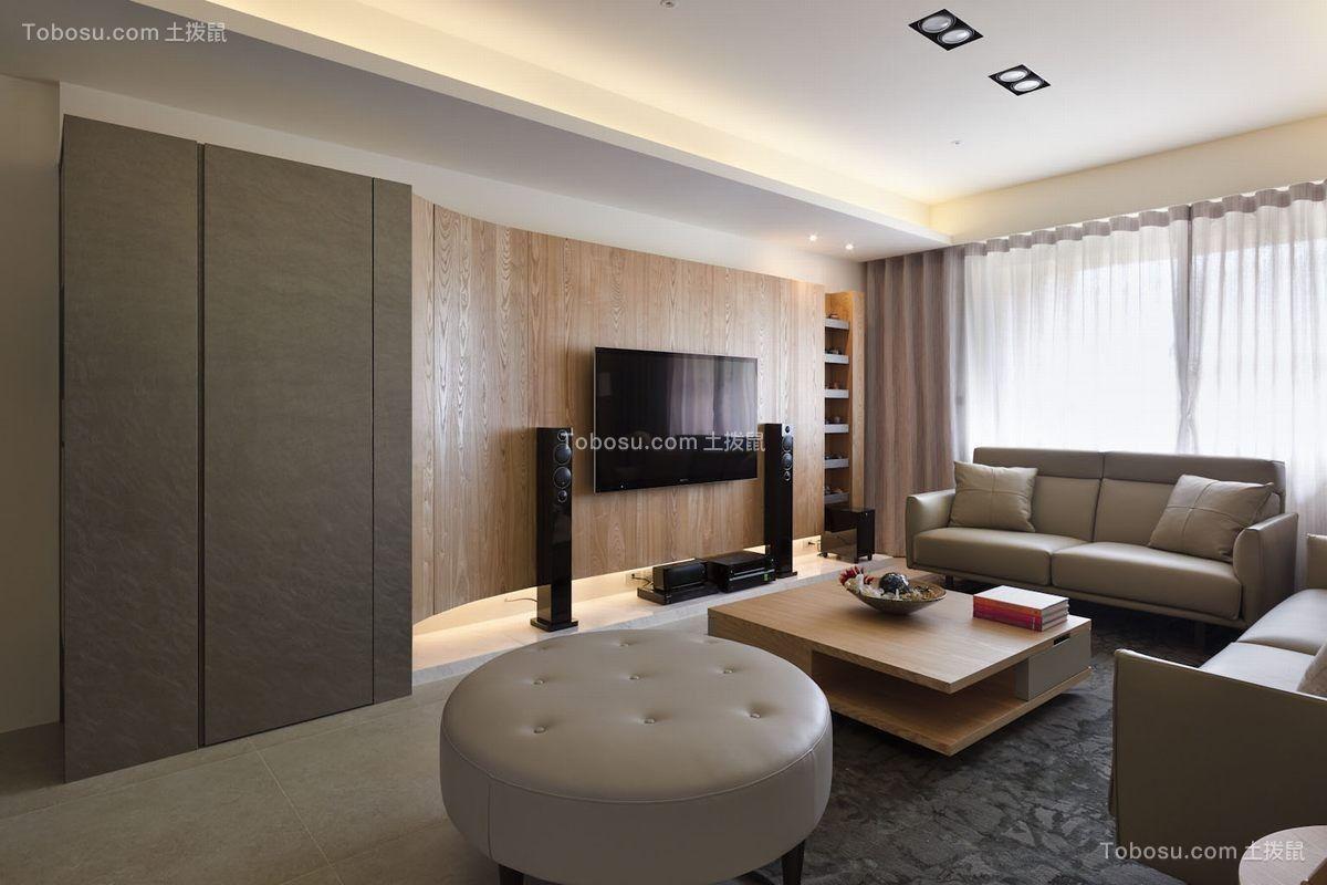 170平日式风格三居室装修效果图