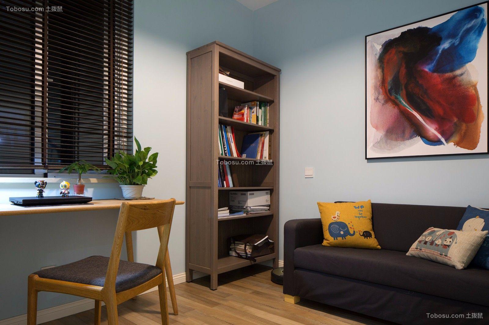 北欧风格书房装修效果图,深受年轻人喜爱的装修图片