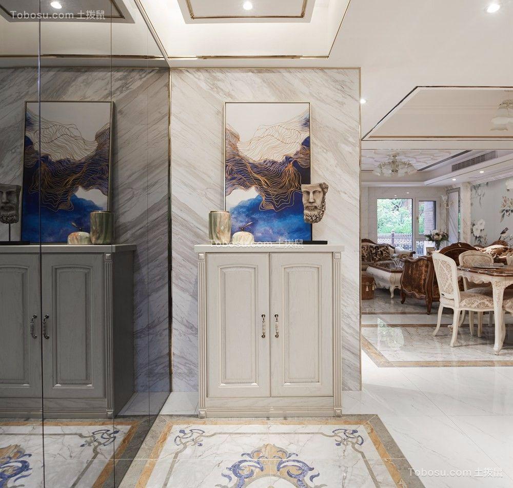 中海珑玺170平四房两厅三卫简欧风格实景图